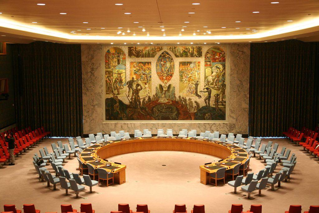 聯合國安理會(圖/MusikAnimal/CC BY-SA 4.0)
