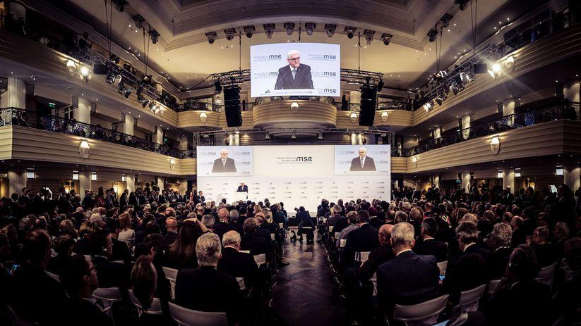 2020 慕尼黑安全會議(圖/慕尼黑安全會議官網)
