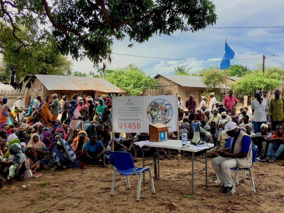 莫三比克德加多省(Cabo Delgado)武裝暴力頻傳(圖/聯合國難民署)