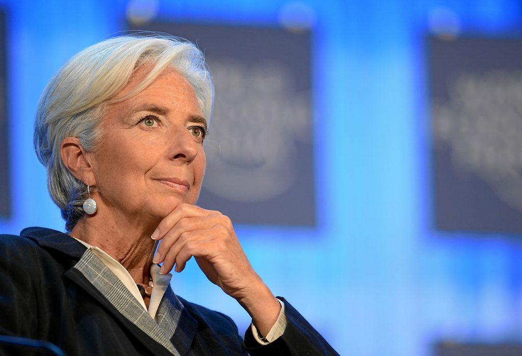 歐洲央行總裁拉加德(Christine Lagarde)(圖/World Economic Forum from Cologny, Switzerland/CC BY-SA 2.0)