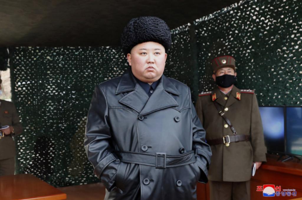 金正恩、朝鮮、射彈_01(圖/朝鮮中央通訊社)