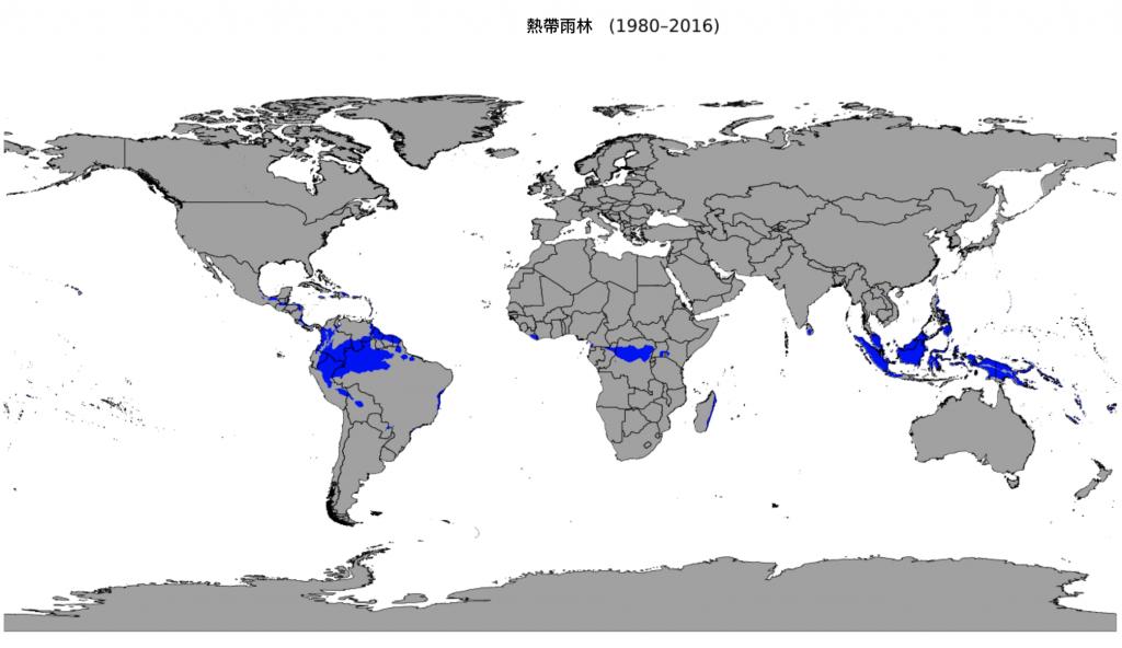 熱帶雨林(圖/Beck, H.E., Zimmermann, N. E., McVicar, T. R., Vergopolan, N., Berg, A., & Wood, E. F./CC BY 4.0)