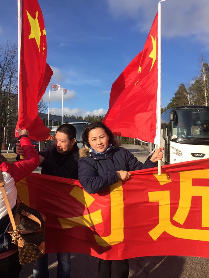 芬蘭、中國滲透2(圖/Jenni Chen-Ye臉書)