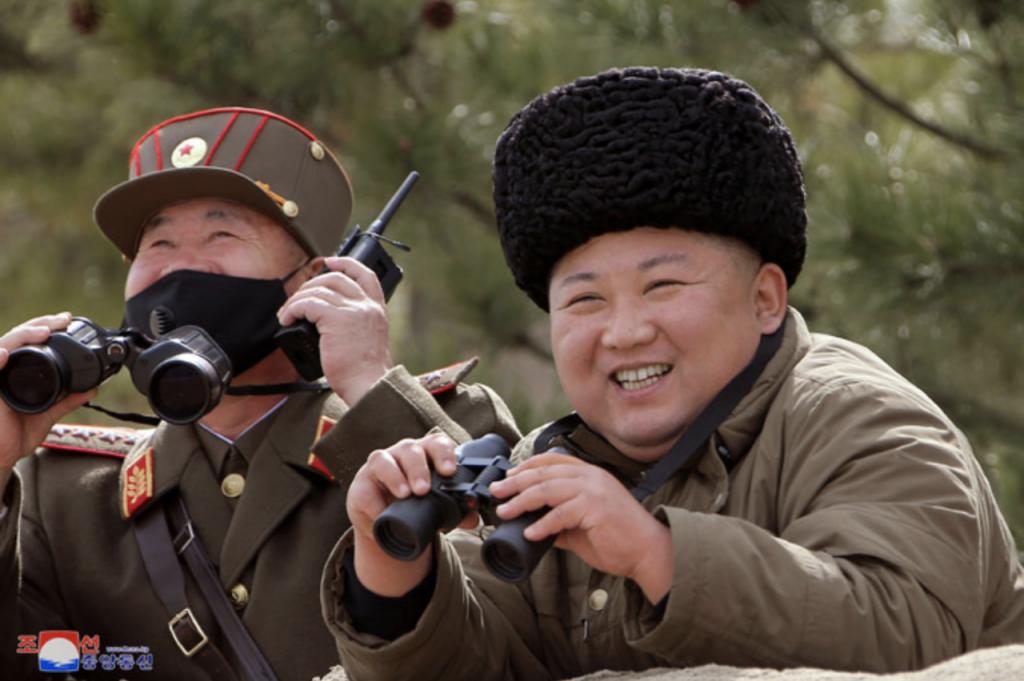 金正恩、朝鮮、射彈_04(圖/朝鮮中央通訊社)