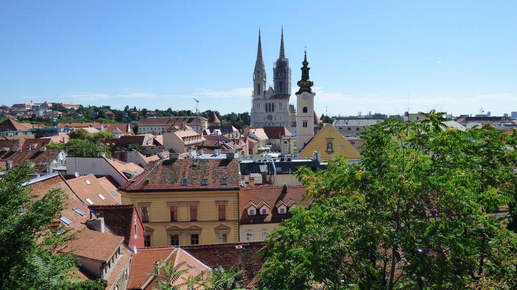 克羅埃西亞薩格勒布(Zagreb)(圖/pixabay)