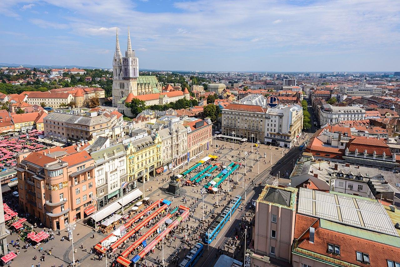 克羅埃西亞薩格勒布(Zagreb)(圖/Nick Savchenko/CC BY-SA 2.0)