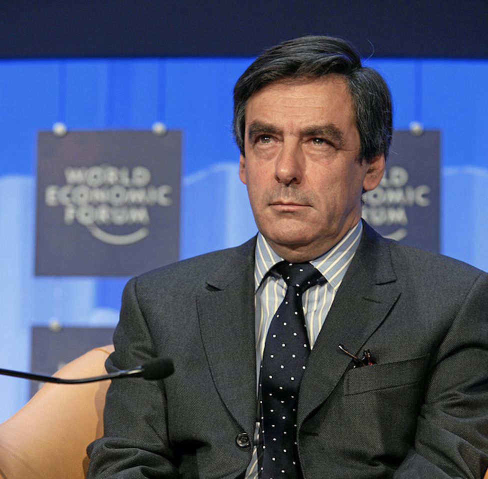 法國前總理費雍(Francois Fillon)(圖/World Economic Forum/CC BY-SA 2.0)