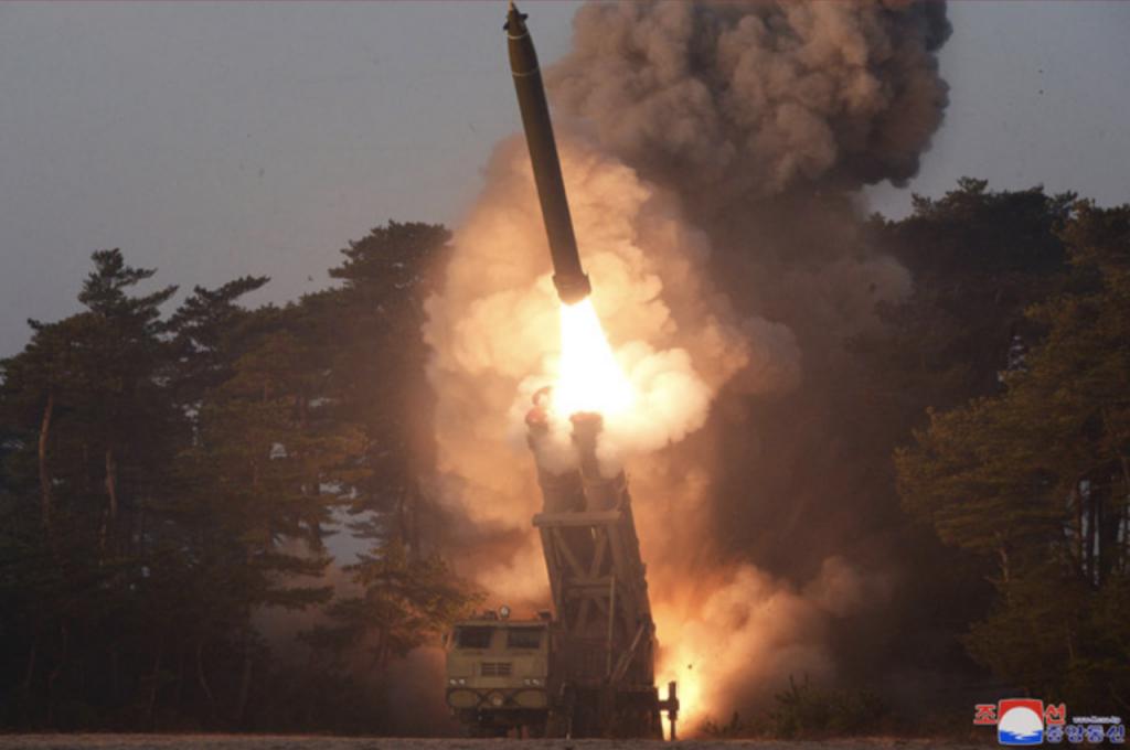 金正恩、朝鮮、射彈_02(圖/朝鮮中央通訊社)