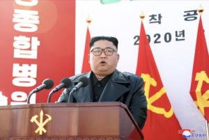 金正恩、平壤綜合醫院(圖/朝鮮中央通訊社)