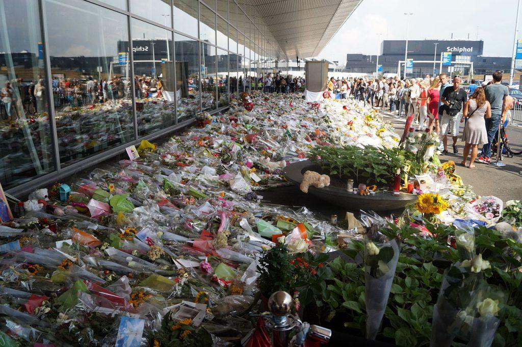 紀念馬來西亞航空MH17號失事班機(圖/JurgenNL/CC-BY-SA 3.0)