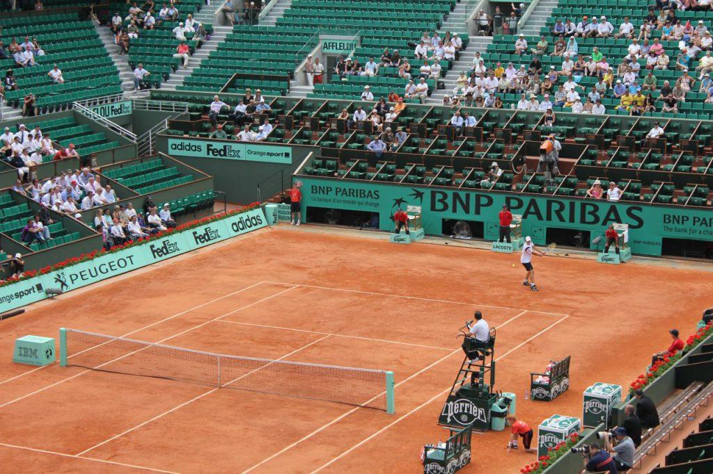 法國網球公開賽(圖/Andrea Anastasakis/CC BY-SA 2.0)
