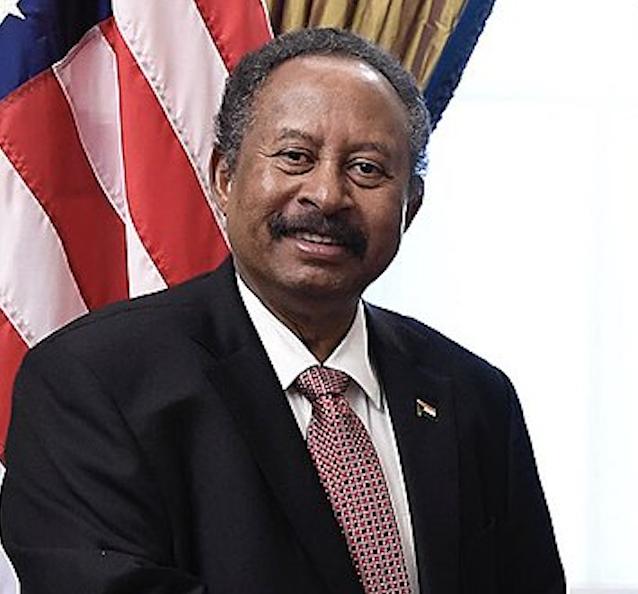 蘇丹總理哈姆杜克(Abdalla Hamdok)(圖/Office of U.S. Secretary of Treasury/公共領域)