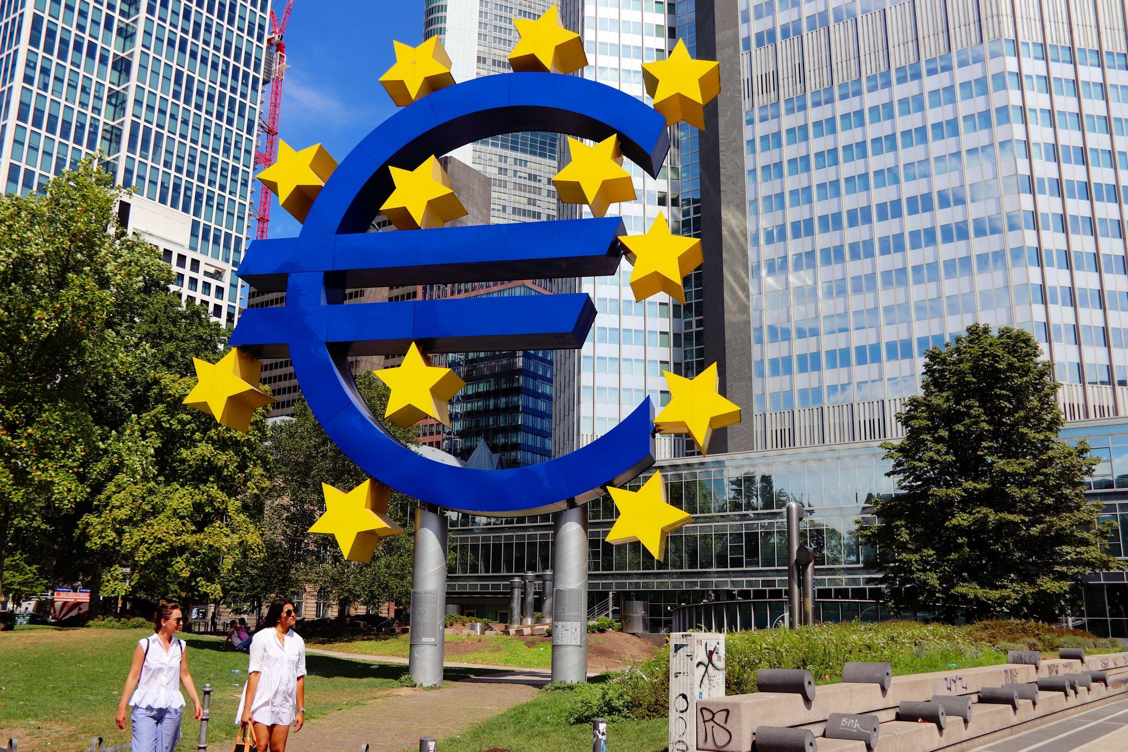 歐洲央行(圖/pexels)