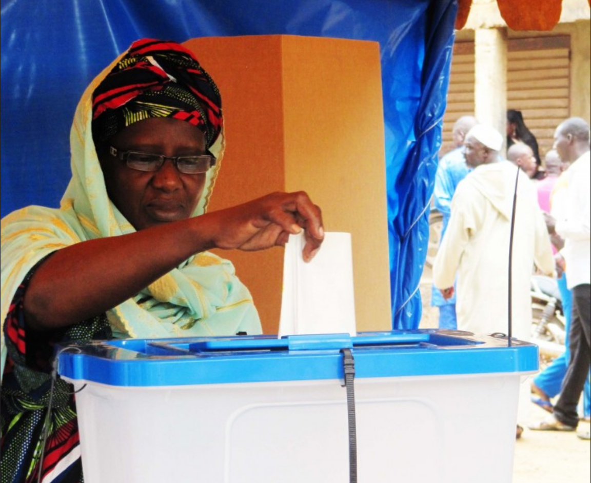 馬利完成戰亂下的國會改選投票(圖/usaid.gov)