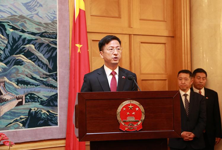 中國駐捷克大使張建敏(圖/中國駐捷克大使館)