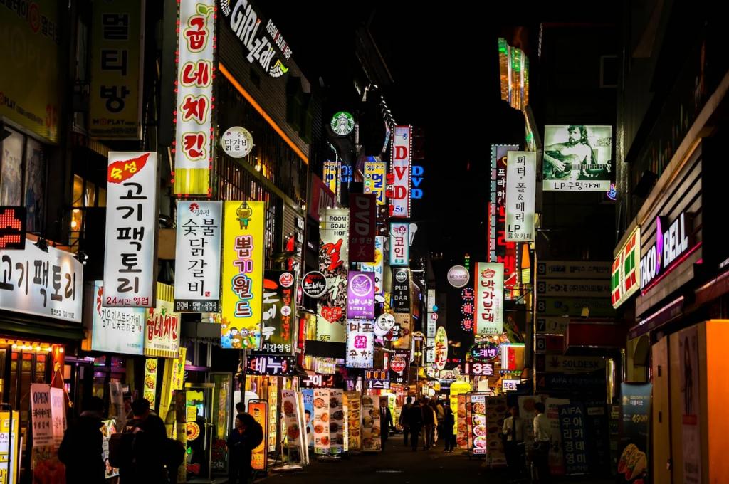 首爾市區(圖/pixabay)
