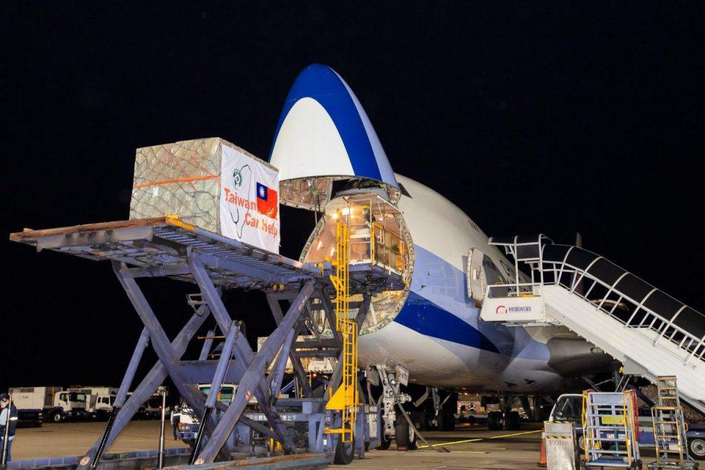 援贈歐盟疫情較嚴重國家的口罩已於4月9日凌晨啟運,臺灣再次向全球證明「臺灣可以幫忙,且臺灣正在幫忙」