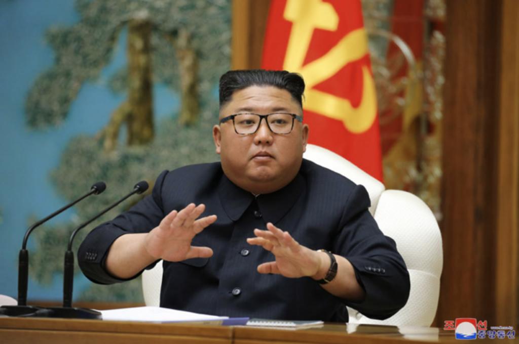 朝鮮中央政治局會議_03(圖/朝鮮中央通信)