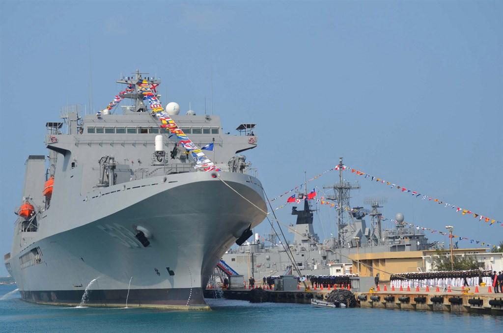 磐石艦是國內唯一同時具備野戰與醫療能力的艦艇。