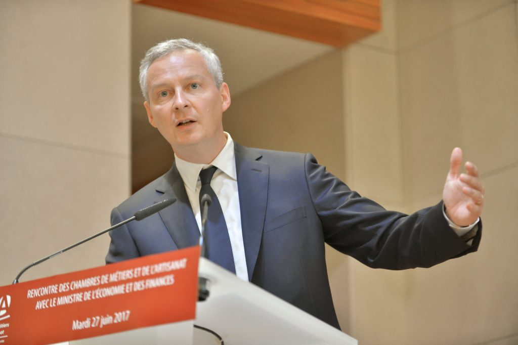 法國財政部長勒麥爾(Bruno Le Maire)(圖/APCMA France/CC BY 2.0)