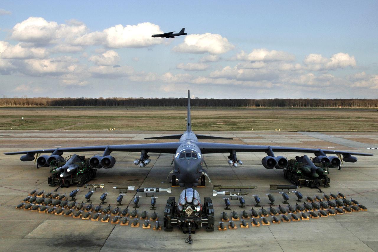 B-52(圖/U.S. Air Force photo by Tech. Sgt. Robert J. Horstman/公有領域)