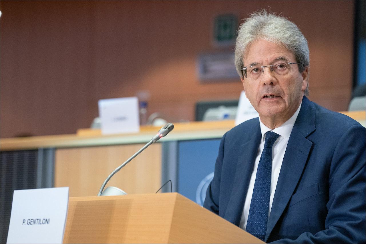義大利前總理,現任歐盟執委會財經事務委員的簡提洛尼(Paolo Gentiloni)(圖/European Parliament/CC BY 2.0)