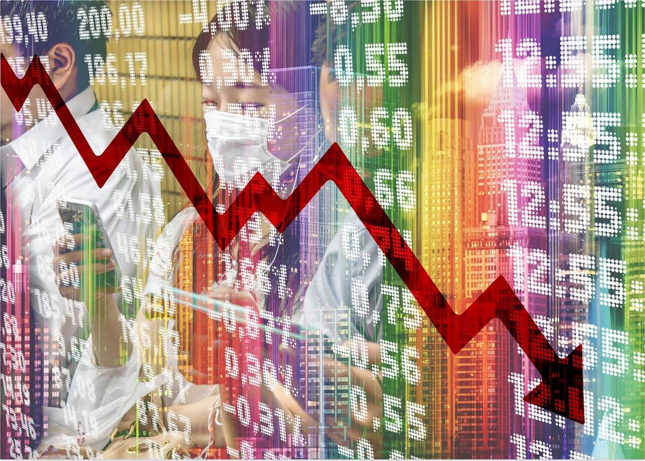 經濟衰退(圖/pixabay)