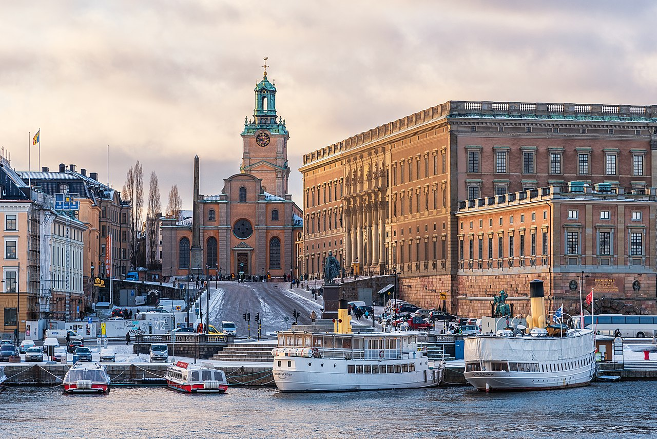Storkyrkan and Kungliga slottet Stockholm(圖/Julian Herzog/CC BY 4.0)