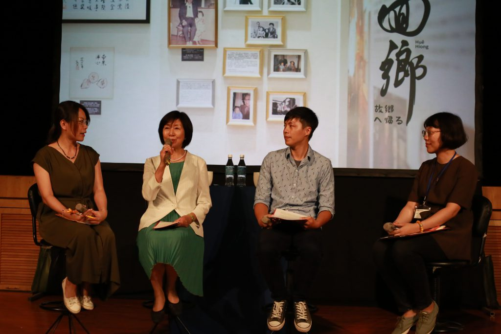 王明理女士(左2,綠衣者)為本文作者