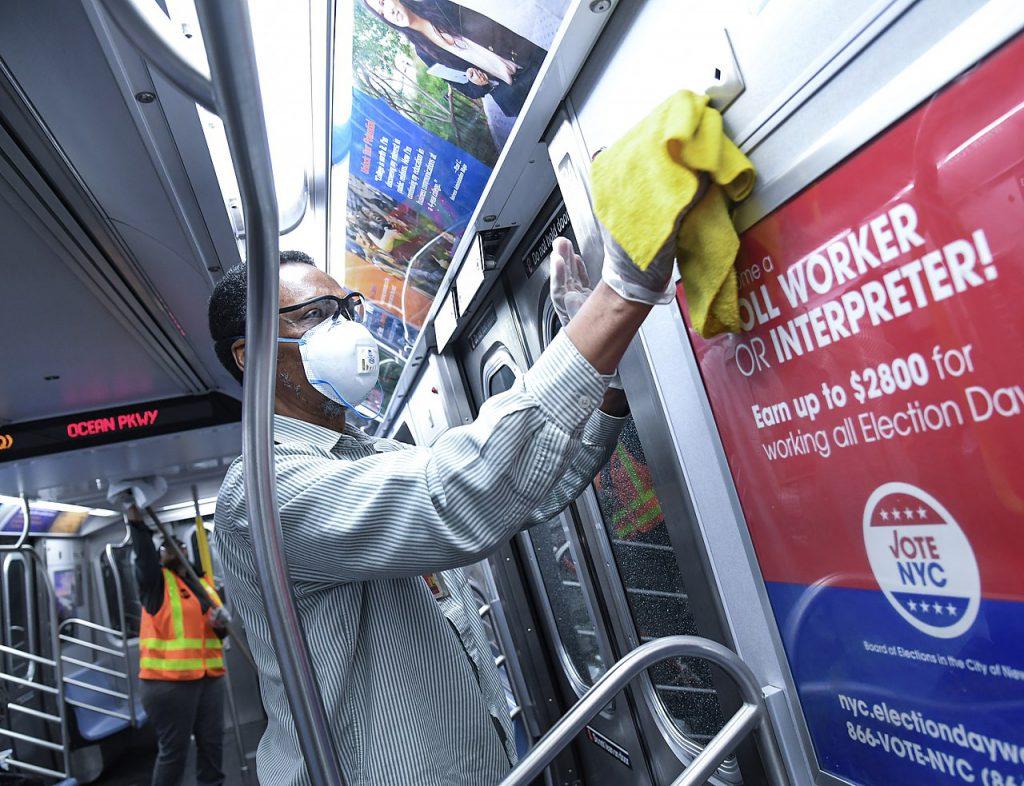 紐約武漢肺炎(圖/Metropolitan Transportation Authority of the State of New York/CC BY 2.0)