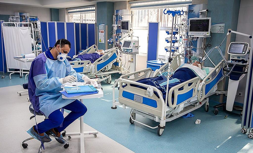 武漢肺炎、醫院(圖/Mohsen Atayi/CC BY 4.0)