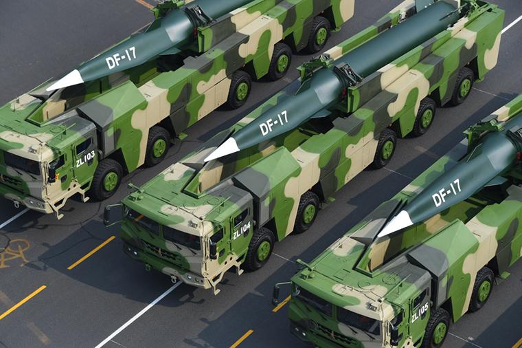 中國東風-17(圖/中國國防部)