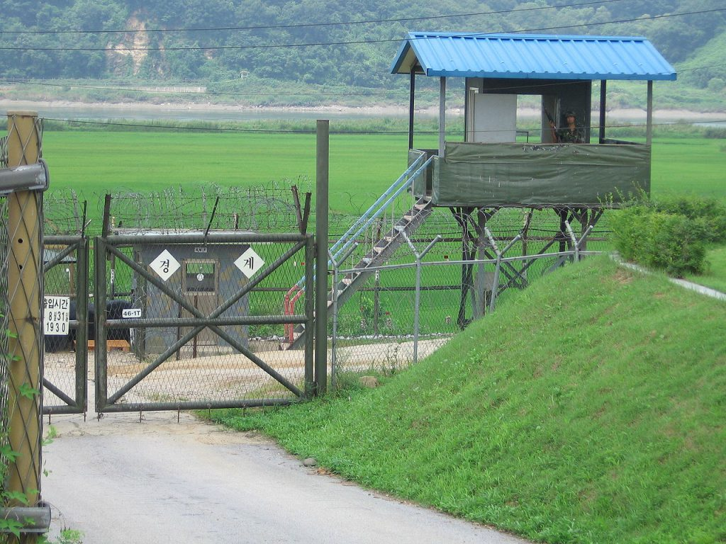 朝韓非軍事區(DMZ)(圖/Johannes Barre, iGEL/CC BY-SA 1.0)