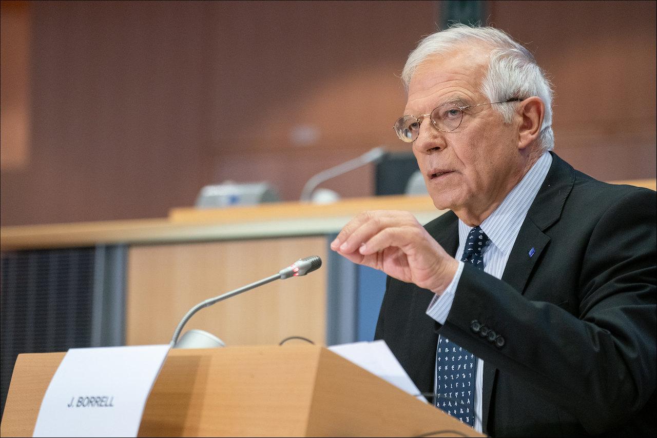 歐盟外長波瑞爾(Joseph Borrell)(圖/European Parliament/CC BY 2.0)
