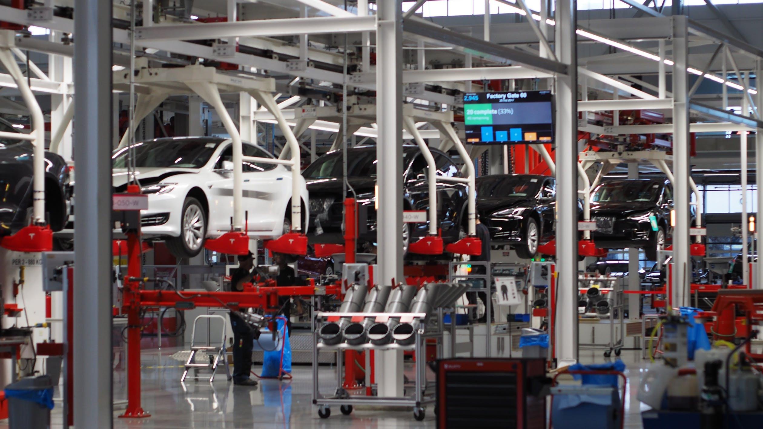 汽車產業(圖/pexels)