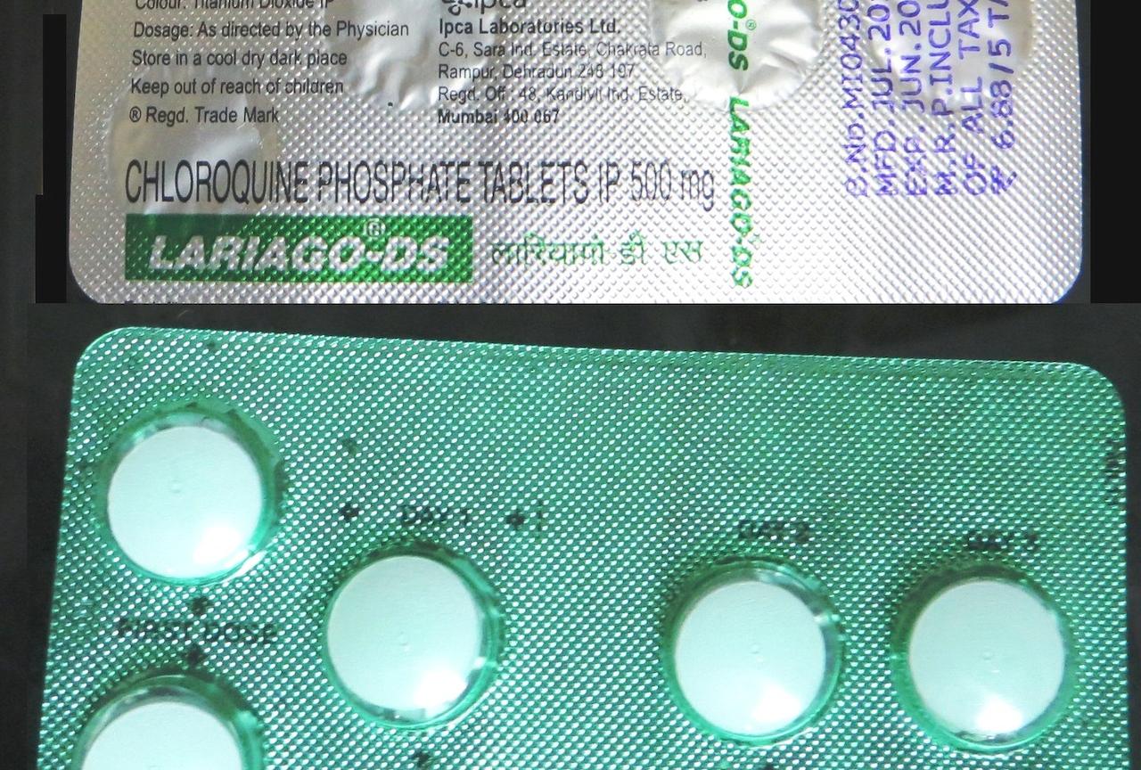 武漢肺炎氯奎寧療法(圖/Joegoauk Goa/CC BY-SA 2.0)