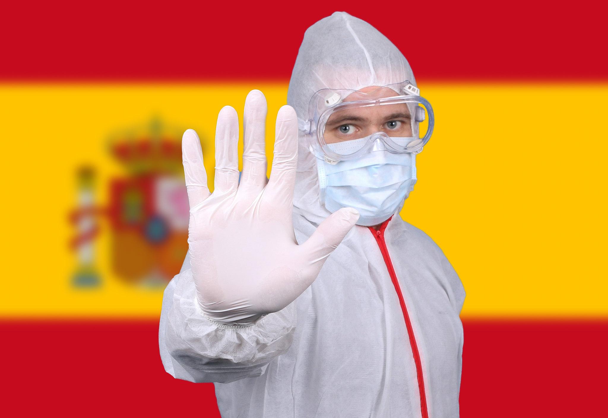 西班牙、武漢肺炎(圖/Jernej Furman/CC BY 2.0)