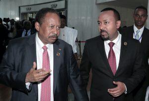 衣索比亞總理Abiy Ahmed、蘇丹總理Hamdok(圖/Tiksa Negeri/路透社.達志影像)