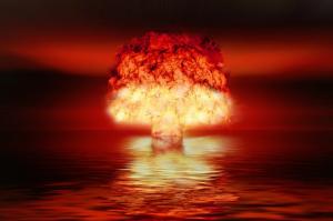 核試爆(圖/pixabay)