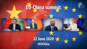 歐盟和中國第 22 次的高峰會(圖/歐盟理事會)