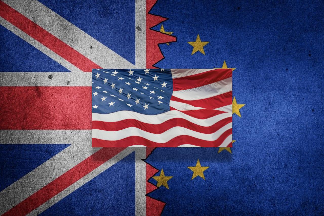 美國、英國、歐盟(圖/pixabay/報呱再製)