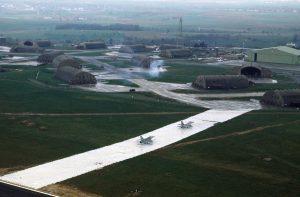 德國西部施潘達萊姆空軍基地(Spangdahlem)(圖/USAF/public domain)