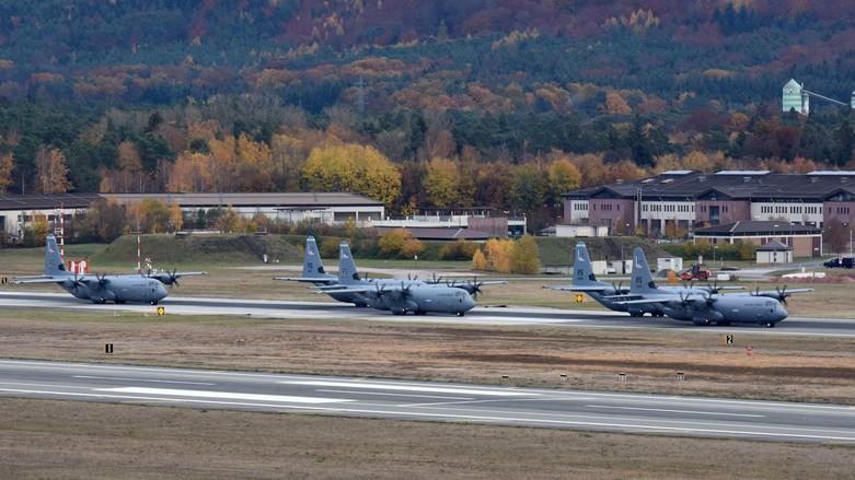 蘭斯坦空軍基地(Ramstein)(圖/U.S. Air Force photo by Airman 1st Class Milton Hamilton)