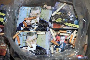 北韓對南韓宣傳單(圖/KCNA)