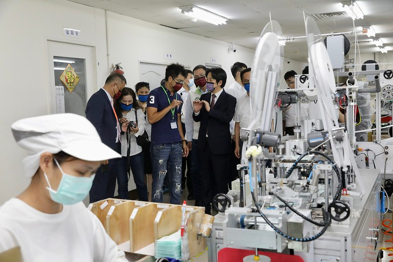 副總統參訪淨新科技股份有限公司