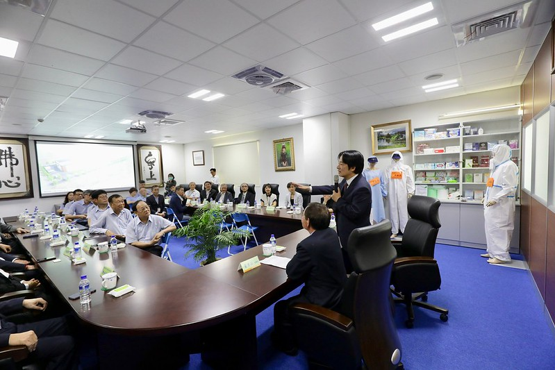 副總統參訪南六企業股份有限公司