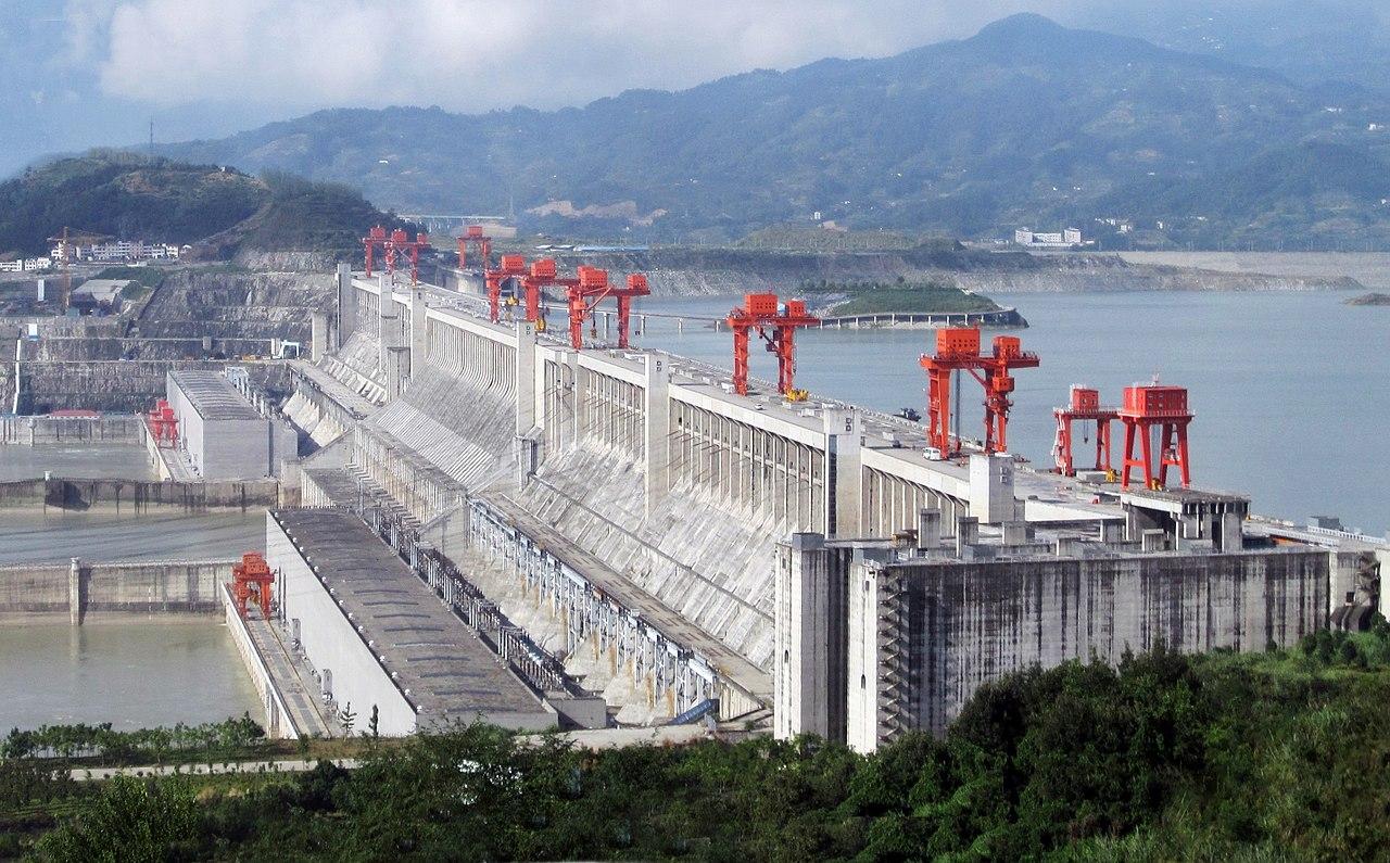 三峽大壩(圖/Rehman/CC BY 2.0)