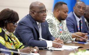 剛果民主共和國總統齊塞克迪(圖/kremlin.ru)
