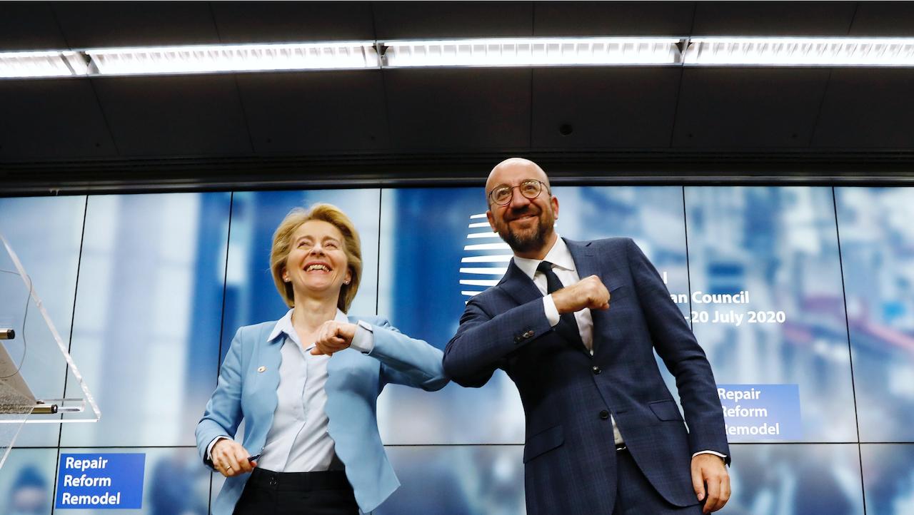 歐盟經濟復甦方案達成共識(圖/European Council)