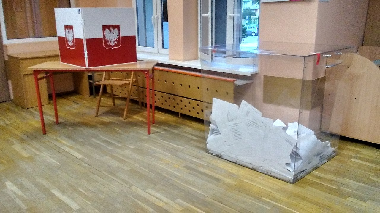 2020波蘭總統大選(圖/Warszawska róg Szerokiej w Tomaszowie Mazowieckim, w województwie łódzkim/公有領域)